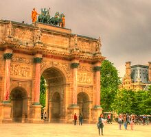 Arc de Triomphe du Carrousel by Michael Matthews