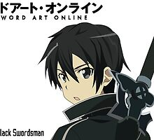 SAO The Black Swordsman by jakeblackwell