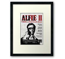 Alfie 2 Framed Print