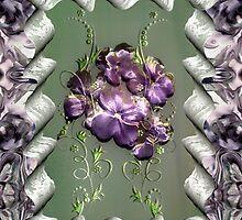 Penny Postcard Violetta by RC deWinter