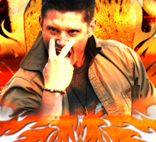 Jensen's eye of the tiger Sticker