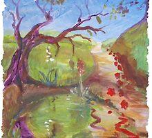 Inspiration of St. Winifred by shellrose
