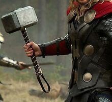 Thor Phone Case by Averyop