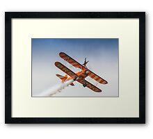 Breitling Wing Walker handstand Framed Print