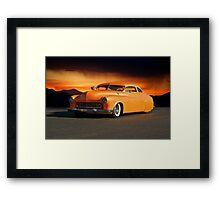 1950 Mercury Custom 'Boulevard Bully' Framed Print