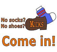 Kicks Show Store Logo by TheFoxyAssassin