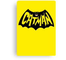 CatMan Canvas Print