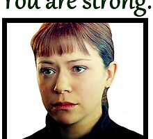 Alison Hendrix - You are strong. by Xaxatella