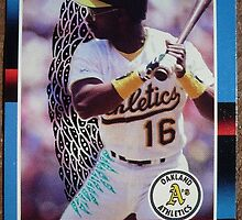 126 - Mike Davis by Foob's Baseball Cards