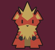 Pokévector: Growlithe by Gefemon2