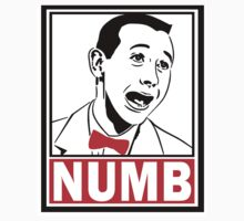 NUMB Pee Wee  by HalfPintPrint