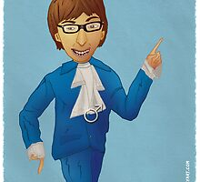Austin Powers by iansmileyart