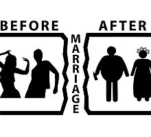 Before and After the Marriage by JSPREZ