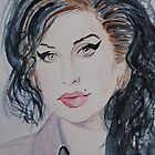 Amy Winehouse by Josephine Mulholland