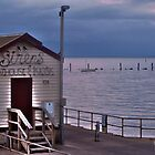 Box on the Pier by Leonie Morris