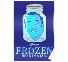 FROZEN (Head in a Jar) Poster