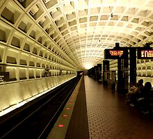 National Archives Metro Station by AnoopMeef