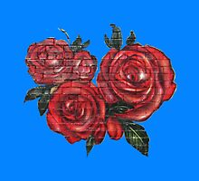 Graffiti Tees-4- ROSES! by DAdeSimone