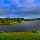 Texas Lake in HDR by aprilann