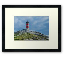 Cape Moreton Lighthouse, Moreton Island, QLD Australia Framed Print