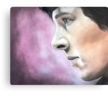 Sherlock - A Study In Pink Metal Print
