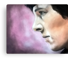 Sherlock - A Study In Pink Canvas Print