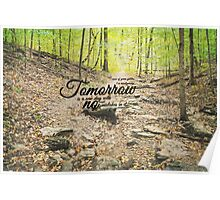 Tomorrow No Mistakes Anne of Green Gables Poster