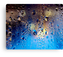 Condensation 06 - Mochaccino Canvas Print