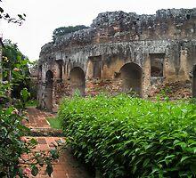 17th Century Convent ruin, Guatemala, 2009 by heatherfriedman