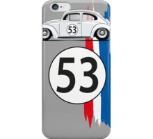 VW Beetle Herbie iPhone Case/Skin