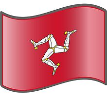 Waving Flag of Isle of Man by abbeyz71
