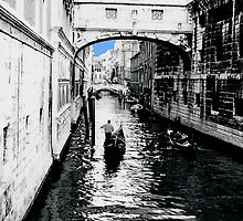 Bridge of Sighs Venice Blue by RachelMacht
