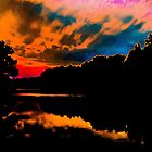 colorful sunset by Brent Fennell