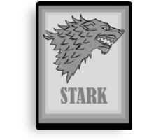House Stark - Game of Thrones Canvas Print