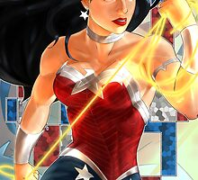 Wonder Woman - Warpath by JBFD