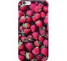 Summer Strawberries iPhone Case/Skin