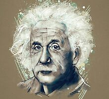 Albert Einstein by tracieandrews