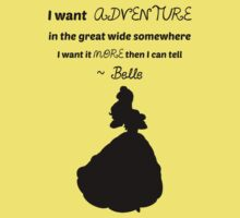 Belle - Quote by DaniTKB