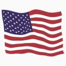 Flag shirt 2 by Carolyn Clark