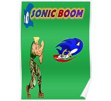 Sonic Boom Poster
