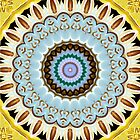 Yellow kaleidoscope by NuclearJawa