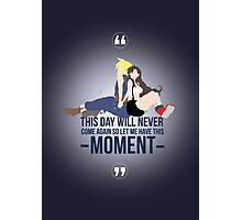 Cloud and Tifa - Moment Photographic Print