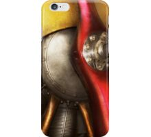 Airplane - Prop - Fine lines iPhone Case/Skin