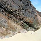 Colourful Cliff - Tolsta Beach by BlueMoonRose