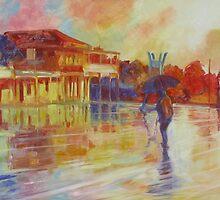 """Afternoon Rain Blackbutt"" by Cary McAulay"