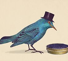 Gentlebirds Prefer Caviar  by Terry  Fan