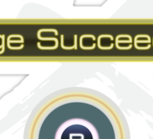 Huge Succeeded - Xenoblade Chronicles X White Sticker