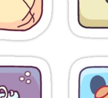 SUPER ICON FRIENDS s1 Sticker