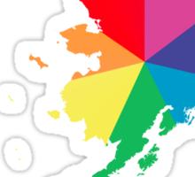 chroma alaska Sticker