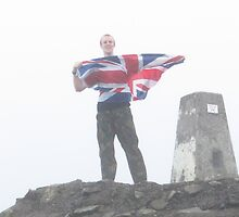A Proud Moment; Ben Nevis Summit by wiggyofipswich